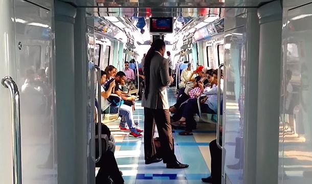 Metro & Lift Usage in Dubai