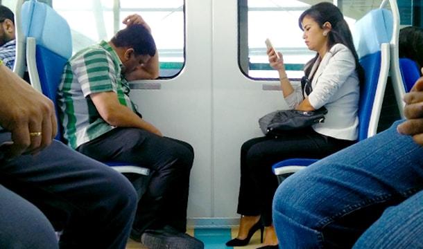 Best Seat in the Dubai Metro